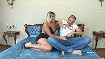 Adrianna and Gery real couple are caught on cam...