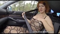 Flashing and anal sex in the highway thumb