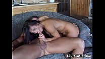 Gorgeous Brunette Has A Fuck With Her Man  - 15