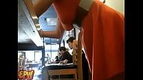 Public red head on  webcam cafe masturbation  - More @ WWW.Erickdarkebadass.com - 69VClub.Com