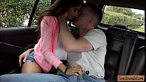 Small tits teen babe Zaya Cassidy nailed by str...