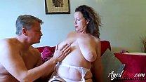 15319 AgedLovE Hot Mature Lady Seducing Businessman preview
