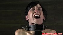 Tiedup bdsm sub toyed while bound video