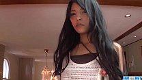 Serious porn session with brunette Eririka Katagiri image
