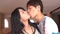 Serious porn session with brunette Eririka Katagiri