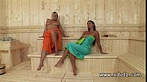 Zafira Klass Makes Sauna Day Amazing When She Stars Playing With Her Girlfriend pornhub video