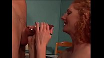 Breathless redhead waiting for a big cock legs wide open thumbnail
