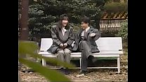 7738 ごきげんテレビ 公園のベンチの背もたれが倒れるドッキリを素人さんに仕掛けたらパンチラ! preview