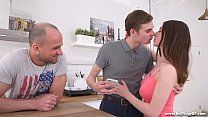 Sell Your GF - Clueless bigtitted gf Busty Clary fucking