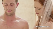 Teen red head masseuse gags on clients cock - mp4 moviez.in thumbnail