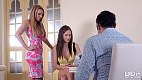 Swinger couple rock a threesome with Designer T... thumb
