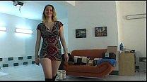 Amateur czech chick lapdances in black boots
