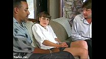 Rebecca Star The Sexy Babysitter Gets DP'd!