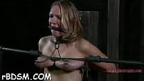 Babe is using a sex-toy to spice it up