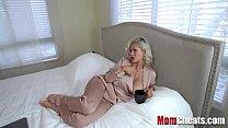 Blonde Russian Mom Tries Son's Cock- Casca Akashova
