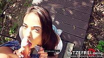 ▶Teen Anastasia Brokelyn's ●OPEN AIR● Sex Adventure on first trip to Berlin! HITZEFREI.dating