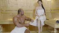 RELAXXXED - Hard fuck at the sauna with attract...