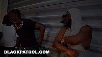BLACK PATROL - MILF Police Officers With Big Tits Fuck A Rapper - 9Club.Top