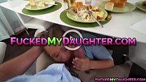 Bailey Brooke flirts and fucks with neighbor