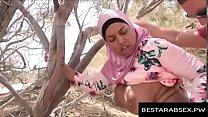 FUXNXX.COM - Big Titties Arab Girl in Hijab Fucked Outside