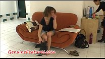 Real erotic photoshoot with cute czech mum image