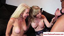 Nina Hartley threeway with mature Erica Thumbnail