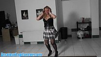 Natural czech milf lapdances for horny guy Preview