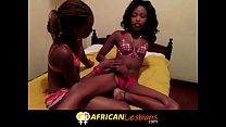 Amazing Real Amateur African Lesbian Scene Neve