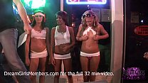 Tanned Hotties Flash Tits In Local Beach Bar Contest