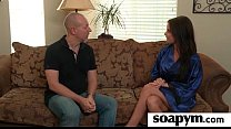 Babe gives erotic soapy massage 3