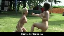 www.indianporn • Cheated wife and slutty blonde hard catfigting outdoor thumbnail