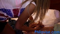 PHILAVISE- Cute blonde teen Chanel Collins gets a proper dicking thumbnail
