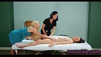 Amazing lesbian massage