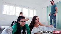 DigitalPlayground - Slumber Party Abella Danger Gina Valentina Melissa Moore Logan Long