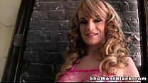 teen slag, Big Tit Stripper Scarlett Monroe Fucks Two Big Cocks in a Gloryhole thumbnail
