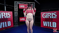 "GIRLS GONE WILD - 19 Year Old Texan Teen ""Isabel"" Cums In The Boxing Ring"