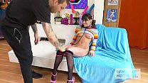 Teen slut Vera King gets manhandled and used like a fuckdoll by hookup hotshot