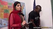 Nadia Ali Learns To Handle A Bunch Of Black Coc...