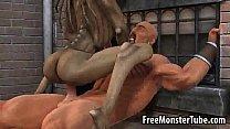 Hot 3D cartoon monster babe getting fucked hard tumblr xxx video