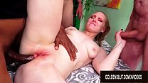 Five Men Take Turns Drilling Mature Delirious H...