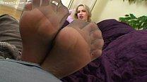 High Heels Nicole - Cum into my Pantyhose Image
