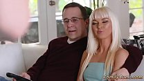 Extra small blonde teen Stretching Your Stepmom
