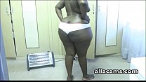 Ebony webcam BBW with a HUGE booty
