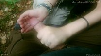 Cum Collecting Fairy - And outdoor HandJob show by Amedee Vause Thumbnail