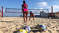 Big Booty African Volleyball