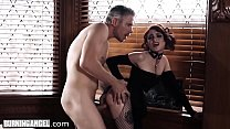 BurningAngel Goth Masturbating In Detention is ...