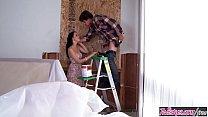 Twistys - (Tyler Nixon, Veronica Radke) starring at Hard At Work