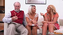 FILTHY FAMILY - Everyone Joins This Twisted Orgy, Including Grandpa! thumbnail
