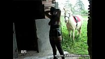 Slavegirl gets the horsewhip