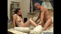 15431 Teen Elisa Rides Old Dude's Dick preview